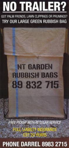 NT Garden  Rubbish Bags