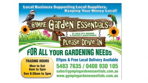 Gympie Garden Essentials by Gold City Mowing  Property Maintenance