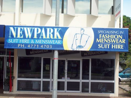 New Park Suit Hire  Menswear