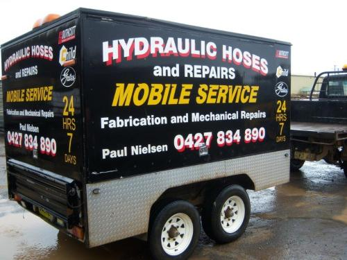 Paul Nielsen Hydraulic Hoses  Repairs